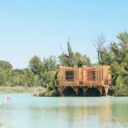 Cabane famille des Grands Cépages provençale