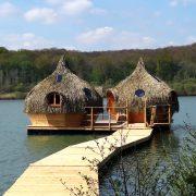 Cabane famille des Grands Lacs robinsons